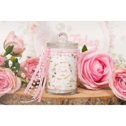 Αρωματικό κερί σε βάζο Άγρια Λουλούδια