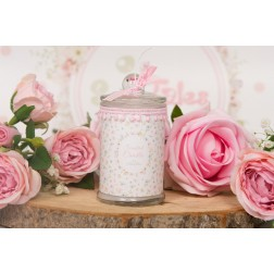 Αρωματικό κερί σε βάζο Miss Flower