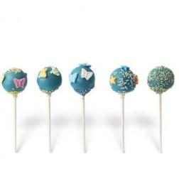 Cake Pops Γαλάζιο Διάφορα