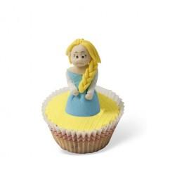 Τρισδιάστατο Cupcake Έλσα (Frozen)
