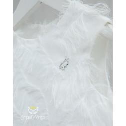 """Φόρεμα βάπτισης """"Vionet"""" Angel Wings"""