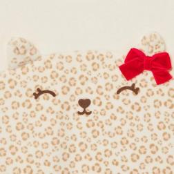 Mayoral Φορμάκι βελούδο γατούλα για Νεογέννητο κορίτσι