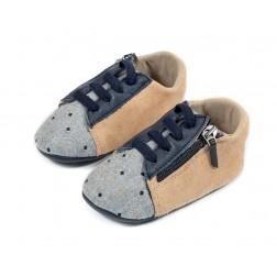 Δερμάτινο sneaker Αγκαλιάς Babywalker MI1096