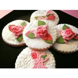 Μπισκότα Βουτύρου Floral