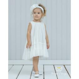 """Βαπτιστικό Φόρεμα """"Cornilia"""" 142 Angel Wings"""