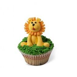 Τρισδιάστατο Cupcake Λιονταράκι