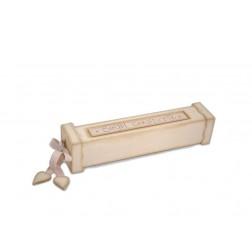 Ξύλινο κουτί για το πιστοποιητικό γέννησης (ουδέτερο χρώμα)