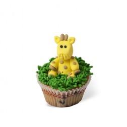 Τρισδιάστατο Cupcake Καμηλοπάρδαλη