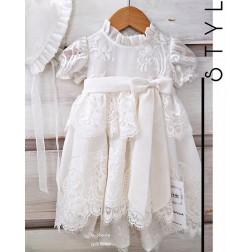Βαπτιστικό Φόρεμα La Joie 1805k