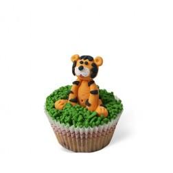 Τρισδιάστατο Cupcake Τίγρης