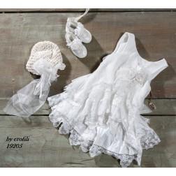 Βαπτιστικό Φόρεμα 19205 by erofili