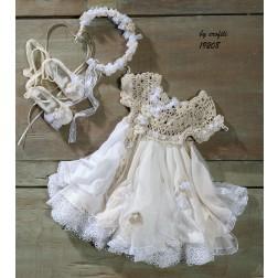 Βαπτιστικό Φόρεμα 19208 by erofili
