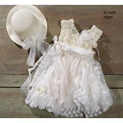 """Βαπτιστικό Φόρεμα """"Antonia"""""""