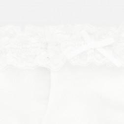 Καλτσάκια λευκά αμπιγιέ Mayoral