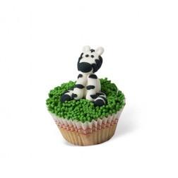 Τρισδιάστατο Cupcake Ζέβρα