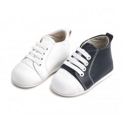 Δερμάτινα Δετά Sneakers για τα πρώτα Βήματα PRI 2028 Babywalker