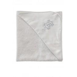 Μπουρνουζάκι CORDUROY Λευκό Σιελ