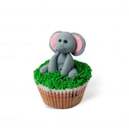 Τρισδιάστατο Cupcake Ελεφαντάκι
