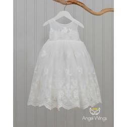 """Βαπτιστικό Φόρεμα """"Emma"""" 220 Angel Wings"""