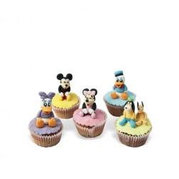 Τρισδιάστατα Cupcakes Φιγούρες Disney