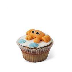 Τρισδιάστατο Cupcake Καβουράκι