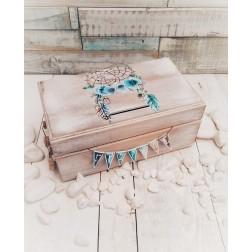 """Ξύλινο Κουτί Ευχών """"Ονειροπαγίδα"""""""