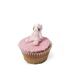 Τρισδιάστατα Cupcakes Γατούλα Hellow Kitty