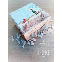 Ξύλινο Κουτί Ευχών ''Little Prince''