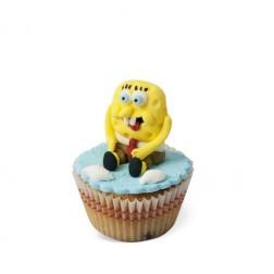 Τρισδιάστατα Cupcakes Bob Σφουγγαράκης