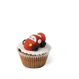Τρισδιάστατα Cupcakes McQueen