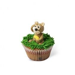Τρισδιάστατο Cupcake Μαϊμoυδάκι