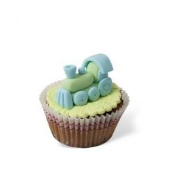 Τρισδιάστατο Cupcake Τρενάκι