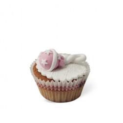 Τρισδιάστατο Cupcake Κουδουνίστρα