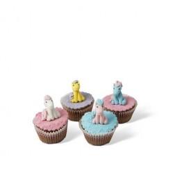 Τρισδιάστατα Cupcakes Πόνυ