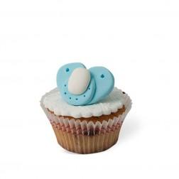 Τρισδιάστατο Cupcake Πιπίλα Γαλάζια