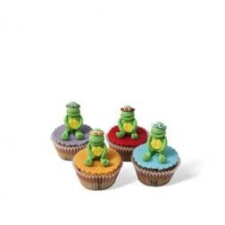 Τρισδιάστατα Cupcakes Φιγούρες Χελωνονιντζάκια