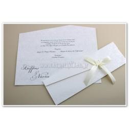 """Προσκλητήριο Γάμου """"Ανάγλυφο Lachour"""""""