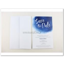 """Προσκλητήριο Γάμου """"SaveThe Date!"""""""