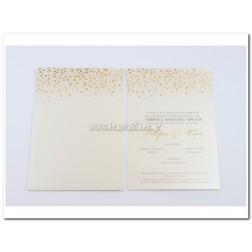 Προσκλητήριο Γάμου 7678