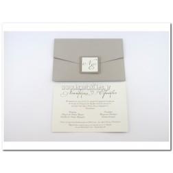 Προσκλητήριο Γάμου 7681