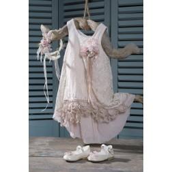 Βαπτιστικό Φόρεμα Boho Chic