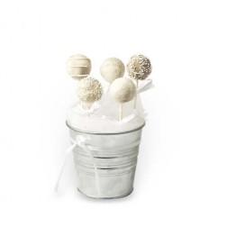 Cake Pops Λευκά