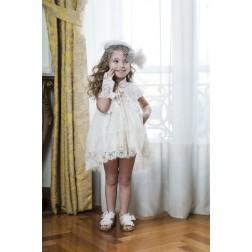 Βαπτιστικό Φόρεμα ''Elpida'' Bambolino