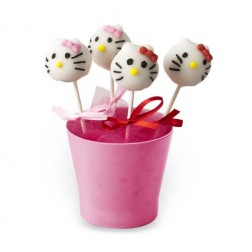 Cake Pops Hellow Kitty