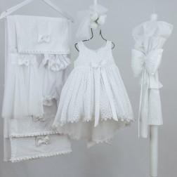 Βαπτιστικό Φόρεμα ''Avgi'' Bambolino