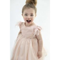 """Βαπτιστικό Φόρεμα """"Kiki"""" Bambolino"""