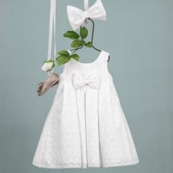 """Βαπτιστικό Φόρεμα """"Tasoula"""" Bambolino"""