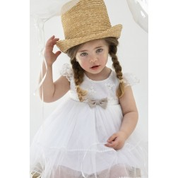 """Βαπτιστικό Φόρεμα """"Errica"""" Bambolino"""