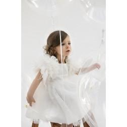 """Βαπτιστικό Φόρεμα """"Poliniki"""" Bambolino"""