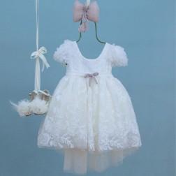 """Βαπτιστικό Φόρεμα """"Eliza"""" Bambolino"""